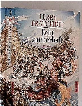 Echt zauberhaft: ein Roman von der bizarren Scheibenwelt - Terry Pratchett; Andreas Brandhorst