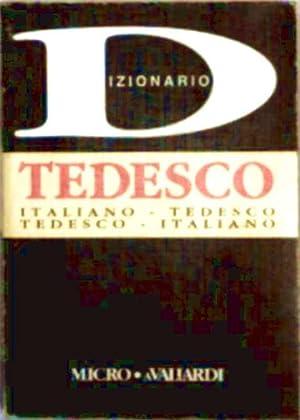 Dizionario Tedesco - Italiano-Tedesco, Tedesco-Italiano (Micro Valiardi: N.V.: