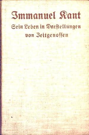 Immanuel Kant - sein Leben in Darstellungen: L.E. Borowski, R.B.