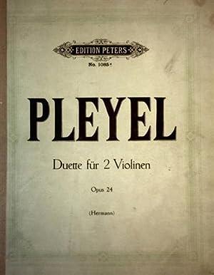 Pleyel - Duette für 2 Violinen, Opus: Pleyel, Ignaz Joseph: