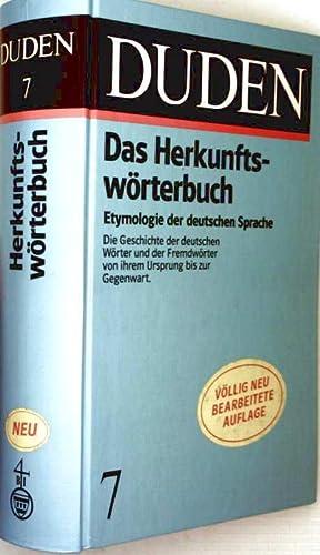 Duden - das Herkunftswörterbuch: Duden Verlag (Hrg.):