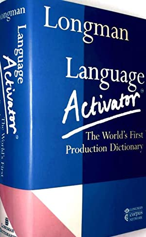 Longman, Language Activator - The World's First Production Dictionary