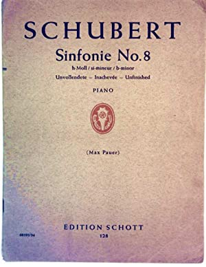 Schubert, Sinfonie Nr. 8, h-Moll si-minueur b-minor - Piano - Unvollendete Inachevee Unfinished (...