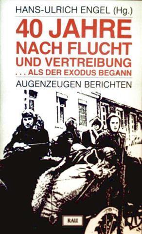 40 Jahre nach der Flucht und Vertreibung - als der Exodus begann, Augenzeugen berichten: ...