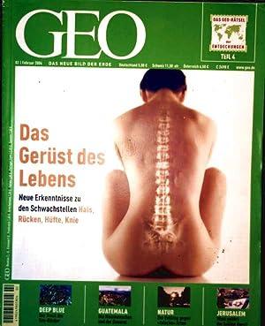 GEO Magazin 2004, Nr. 02 Februar -: Peter Matthias Gaede: