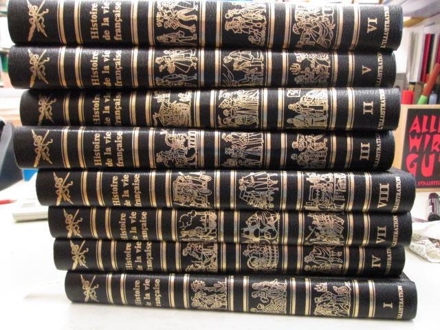 Histoire de la vie francaise (8 tomes): Mirepoix, Pognon Mongrédien: