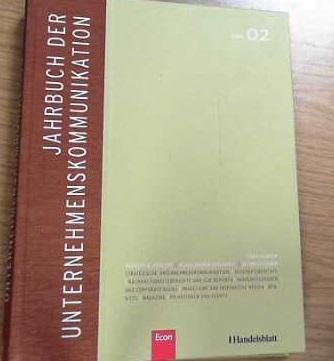 Jahrbuch der Unternehmenskommunikation 2008: Band 02: Klaus, Rainer Kirchhoff,