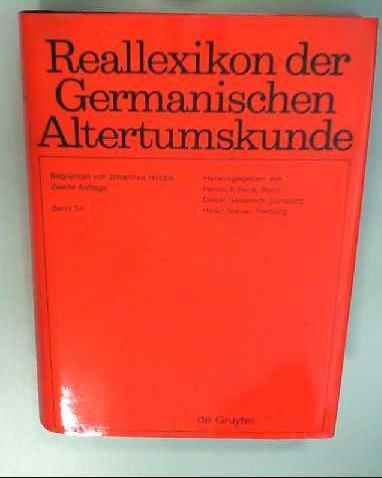 Reallexikon der Germanischen Altertumskunde / Quadriburgium -: Hoops, Johannes, Heinrich