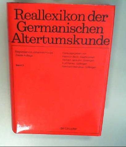 Reallexikon der Germanischen Altertumskunde / Bilrost -: Hoops, Johannes, Heinrich