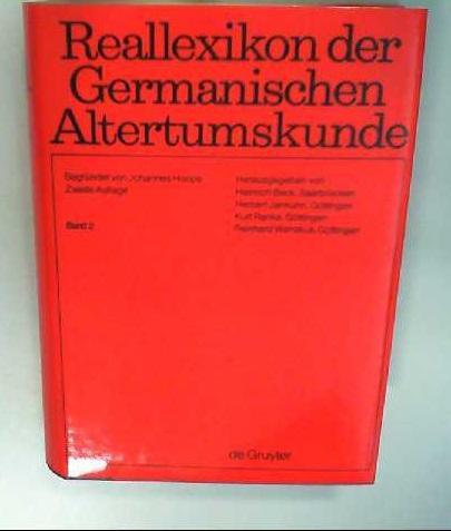 Reallexikon der Germanischen Altertumskunde / Bake -: Hoops, Johannes, Heinrich