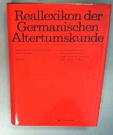 Reallexikon der Germanischen Altertumskunde / Saal -: Hoops, Johannes, Heinrich