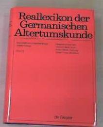 Reallexikon der Germanischen Altertumskunde / Friesen, Otto: Hoops, Johannes, Heinrich