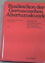 Reallexikon der Germanischen Altertumskunde / Fidel -: Hoops, Johannes, Heinrich