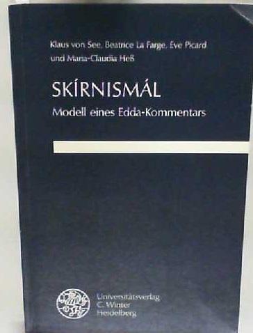 Skirnismál: Modell eines Edda-Kommentars