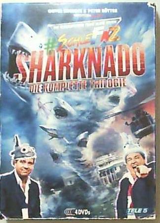SchleFaZ - Sharknado: Die komplette Trilogie [4 DVDs]