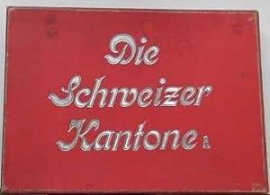Die Schweizer Kantone. Puzzle-Legespiel