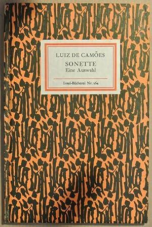 Sonette : eine Ausw. [Aus d. Portugies. übertr. von Otto von Taube. Nachw. von Erich Kalwa], ...