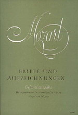 Briefe und Aufzeichnungen - 4 Bände -: Mozart, Wolfgang A: