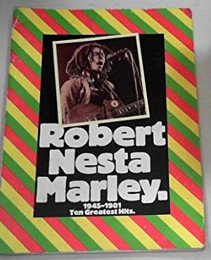 Bob Marley 1945-1981 : songbook piano/vocal/guitar