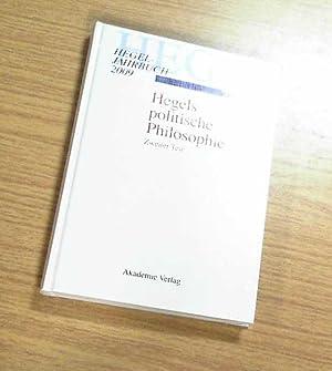 2009 - Hegels politische Philosophie. Zweiter Teil: Arndt, Andreas, Paul