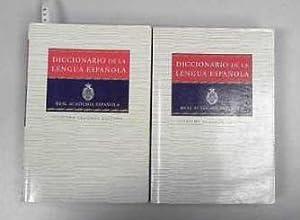 Diccionario de la lengua espanola de la: REAL, ACADEMIA ESPAÃ'OLA:
