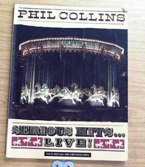 Phil Collins. Serious Hits. Live