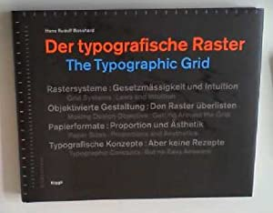 Der typographische Raster /The Typographic grid: Allemand/Anglais (NIGGLI EDITIONS)