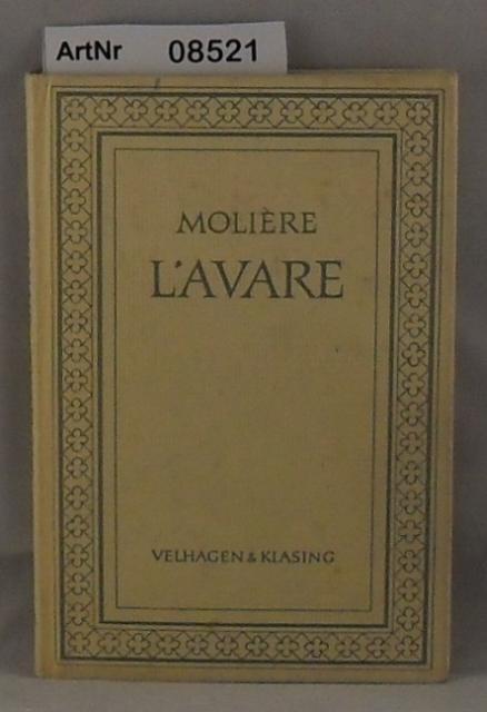 L'avare : comédie en 5 actes (Éd.1893) - Molière