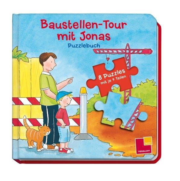 Baustellen-Tour mit Jonas. Puzzlebuch