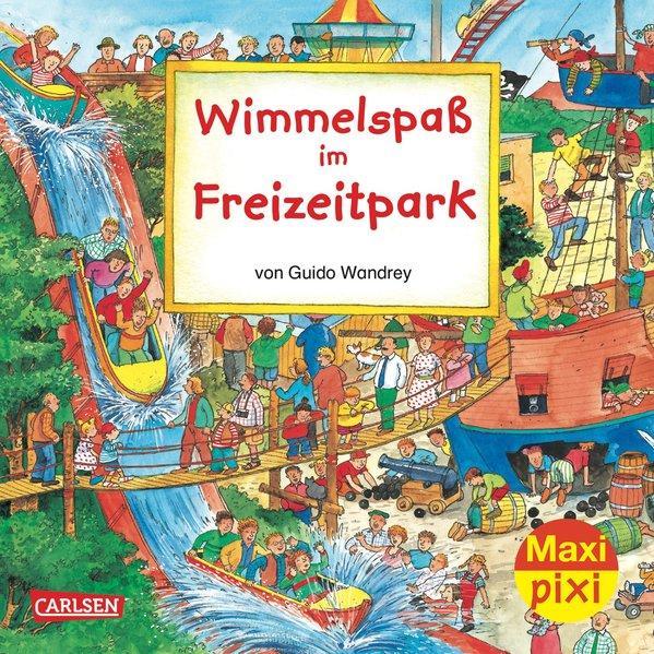 Maxi-Pixi Nr. 44: Wimmelspaß im Freizeitpark