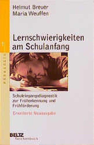Lernschwierigkeiten am Schulanfang (Beltz Taschenbuch): Breuer, Helmut und
