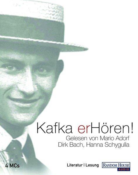 Kafka: erHören!, 4 Cassetten: Franz, Kafka,: