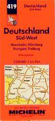 Michelin Karten, Bl.545 : Deutschland Süd-West (Michelin: Travel Publications, Michelin: