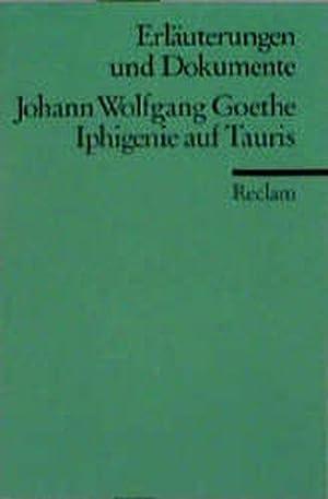Erlauterungen Und Dokumente: Goethe: