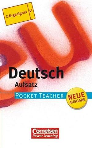 Pocket Teacher - Sekundarstufe I (mit Umschlagklappen): Berger, Dietrich und