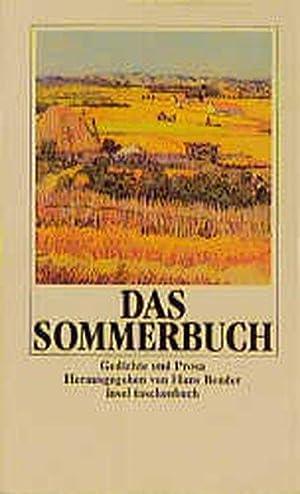 Die vier Jahreszeiten-Bücher. Gedichte und Prosa: Das Sommerbuch: Gedichte und Prosa (insel taschenbuch)