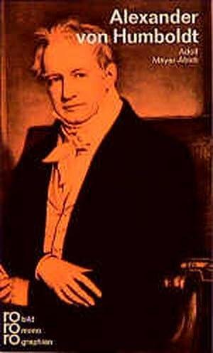 Alexander von Humboldt: Meyer-Abich, Adolf: