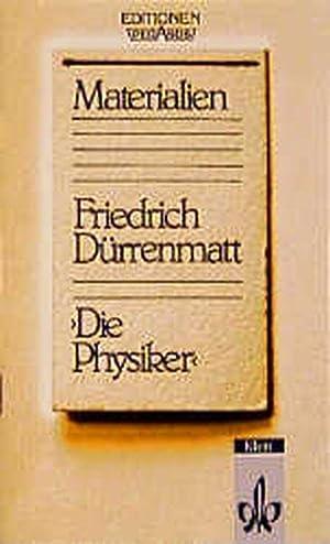 Die Physiker, Materialien: Dürrenmatt, Friedrich und
