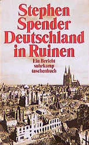 Deutschland in Ruinen: Spender, Stephen: