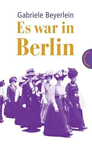 Es war in Berlin