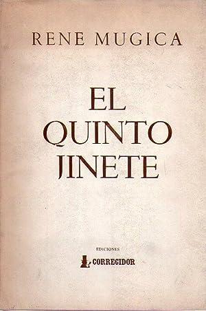 EL QUINTO JINETE. Ilustraciones Mirta Ripoll. [Firmado / Signed]: Mugica, Rene