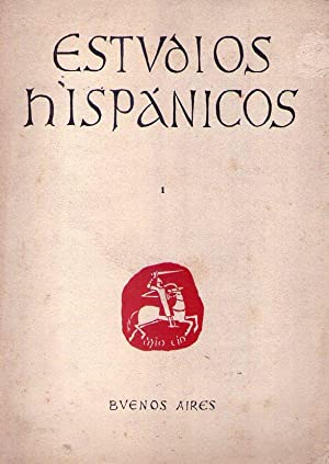 ESTUDIOS HISPANICOS. No. 1, tomo 1, junio 1959: Obligado, Alberto D. (Director)