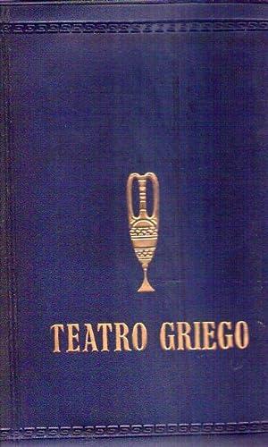 TEATRO GRIEGO: Esquilo - Sofocles - Euripides - Aristofanes - Menandro