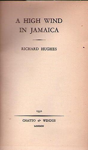 A HIGH WIND IN JAMAICA: Hughes, Richard