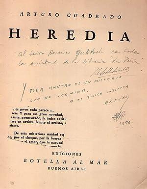 HEREDIA [Firmado / Signed]: Cuadrado, Arturo
