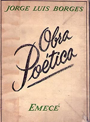 OBRA POETICA 1923 - 1964: Borges, Jorge Luis