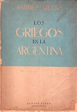 LOS GRIEGOS EN LA ARGENTINA: Melas, Andres