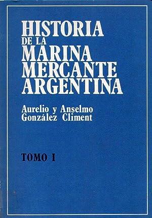 HISTORIA DE LA MARINA MERCANTE ARGENTINA (4: Gonzalez Climent, Aurelio