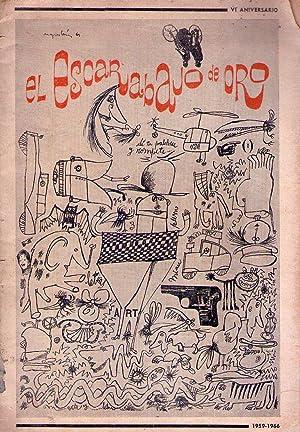 EL ESCARABAJO DE ORO - No. 30. VI Aniversario 1959 - 1966. (Sobre Leopoldo Marechal por Julio Cort&...