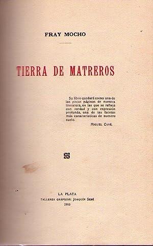 TIERRA DE MATREROS: Fray Mocho (Seudónimo de Jose Sixto Alvarez)